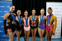 USA team with their medals