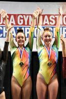Olivia Simpson and Lexi Vigil - Senior women's champions