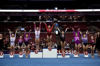 Balance Beam podium