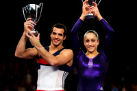 Danell Leyva and Jordyn Wieber