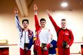 Junior Parallel Bars Medalists