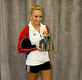 June 23, 2009 - Nastia Liukin receives award / 2009 Olympic Day