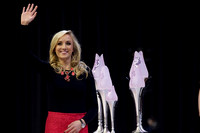 Nastia Liukin presented the awards