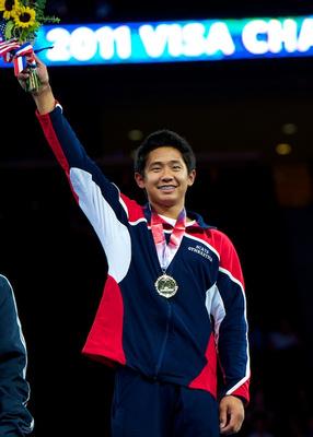 Adrian de los Angeles - Junior 16-18 all-around champion