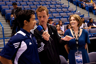 John Macready talks to Raj Bhavsar and Shannon Miller