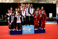Team medalists