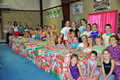 Nov., 2009 - Cumberland Gymnastics' Operation Christmas Child