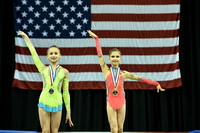 Hopes all-around medalists
