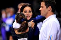 Vanessa Zamarripa with her coach