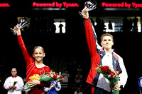 Shawn Johnson and Jonathan Horton - 2007 Tyson American Cup Champions