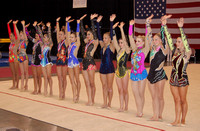 Top 12 in the all-around that advance to the all-around finals