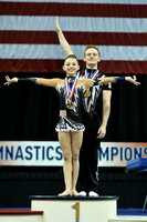12-18 Mixed pair medalists