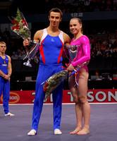 2010 Tyson American Cup champions Maxim Devyatovskiy and Rebecca Bross