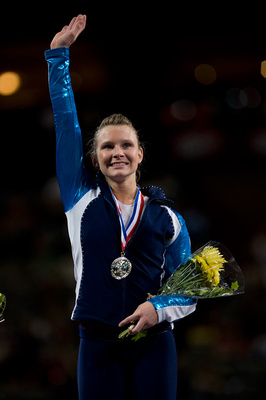 Bridget Sloan wins the all-around title