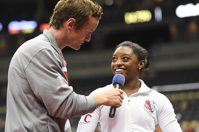 John Macready interviews Simone Biles
