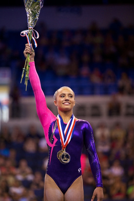 Lexie Priessman, all-around champion