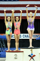 Rhythmic clubs medalists