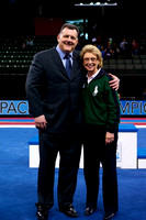 USA Gymnastics President Steve Penny with Governor Chris Gregoire