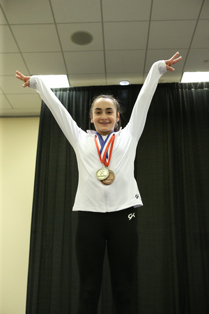 Lali Dekanoidze - Junior D champion