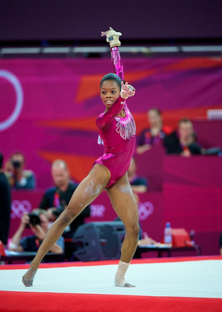 USA Gymnastics: Aug. 2, 2012 - Women's All-Around Final  Gabby Douglas