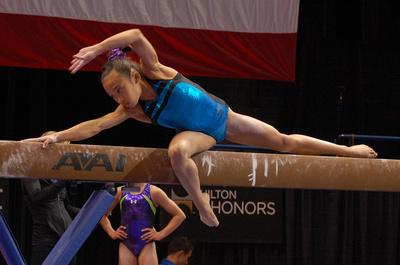 USA Gymnastics: Aug. 14, 2013 - Junior Women Podium Training &emdash;
