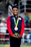 Simone Biles - balance beam bronze medalist
