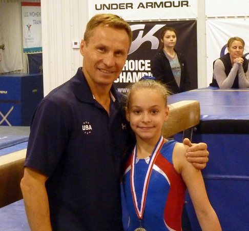 Vika Smirnov   - 2nd Place Physical Abilities