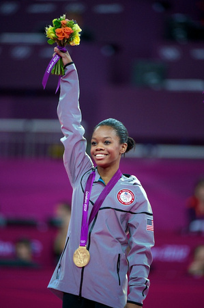 USA Gymnastics: Aug. 2, 2012 - Women's All-Around Final  Gabby Douglas - 2012 Olympic all-around champion
