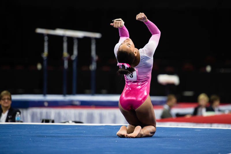 USA Gymnastics   March 4 - Competition   Haleigh Bryant Nastia Cup
