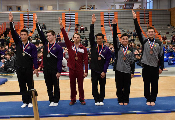 Club All-Around Medalists