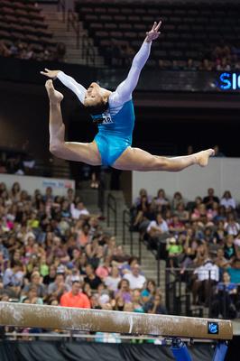 USA Gymnastics: July 25 - Senior Competition &emdash; Kyla Ross