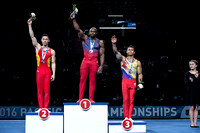 Parallel Bars medalists