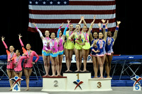 12-18 Women's group medalists
