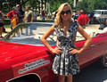 Nastia Liukin as the Grand Marshal at the 2015 Indy 500 - May 21-24, 2015