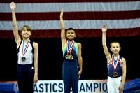 Junior Trampoline, Tumbling and Double Mini awards