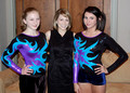 March 2 - Shannon Miller and members of the Gymninators